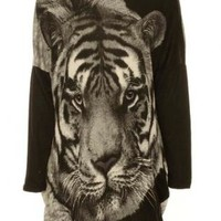 Oversized Tiger Sweater