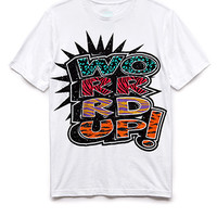 Throwback Word Up Tee