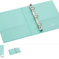 "Martha Stewart Home Office? with Avery?Smooth-Finish Small-Format Binder 1"" Gap Free? Ring 