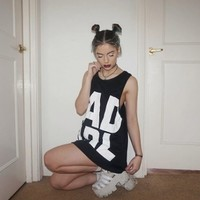 Bad Girl Oversized Racerback Top