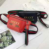 Gucci Print belt bag