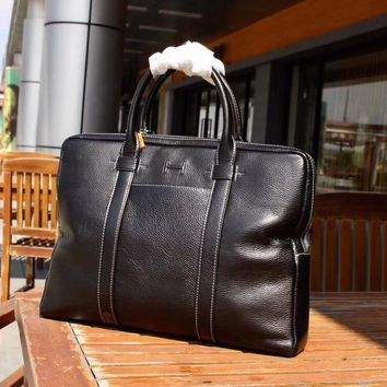 HERMES MEN'S 2018 HOT STYLE LEATHER BRIEFCASE BAG CROSS BODY BAG