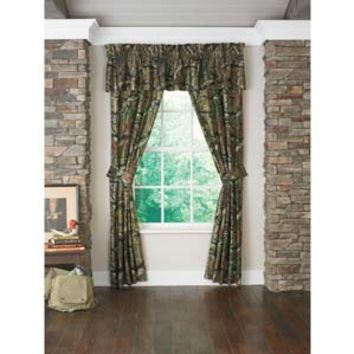 Mossy Oak Camo Window Curtains