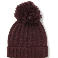winter days pom pom beanie