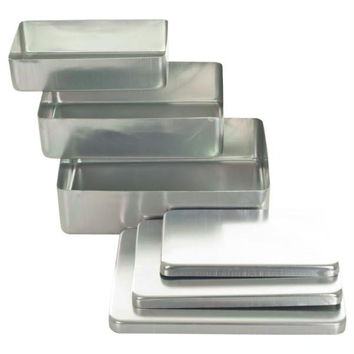 Stalwart  3 Pc Aluminum Storage Box