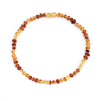 5 Colors 14-48cm Natural Amber Stone Baby Necklace Supply Certificate Authenticity Genuine Baltic Amber Necklace For Adult Baby