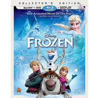 Walmart: Frozen (Blu-ray + DVD + Digital HD) (Widescreen)