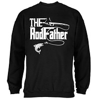 Father's Day Rod Father Fishing Mens Sweatshirt