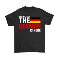 QIYIF Have No Fear The Proud German Is Here Shirts