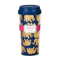 Thermal Mug in Navy Tusk in Sun by Lilly Pulitzer