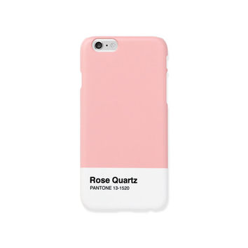 iPhone 5s case - Pantone's 2016 trend colors 'Rose Quartz' - iPhone 6s case, iPhone 5s case, non-glossy L29