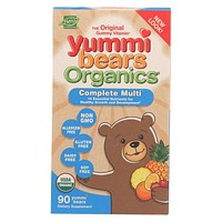 Yummy Bears Organics Multi Vitaminand Mineral - Gummy - Children - 90 Count