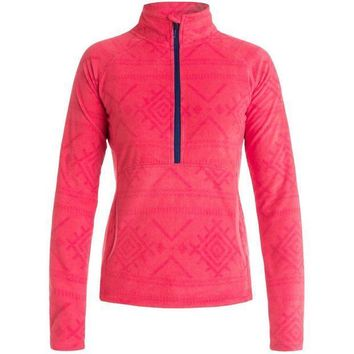 PEAPJ3R Roxy Cascade Half-Zip Fleece