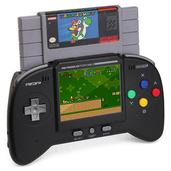 Retro Duo Portable NES/SNES Game System