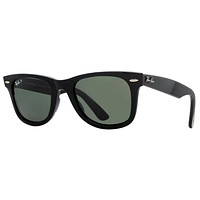 Ray Ban RB2140 901/58 54mm Black Polarized Unisex Wayfarer Sunglasses