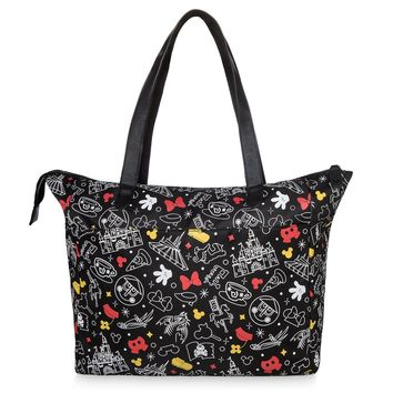 Disney Parks Icons Mickey and Minnie Tote Bag New with Tags