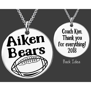 Football Coach Necklace
