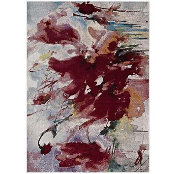 Blume Abstract Floral 8x10 Area Rug