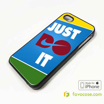 JUST DO IT 2 Nike Every Damn Day iPhone 4/4S 5/5S 5C 6 6 Plus Case Cover