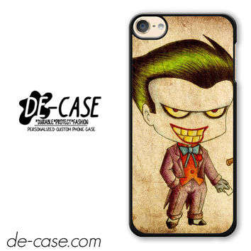 Harley Quinn And Joker Art Couple Case Device 1 DEAL-5069 Apple Phonecase Cover For Ipod Touch 6