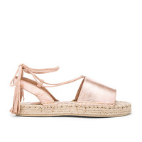 RAYE Devon Sandal in Rose Gold