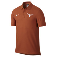 Nike College Stadium Pique (Texas) Men's Polo