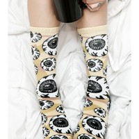 Mishka Camo Keep Watch Pattern Socks | Dolls Kill