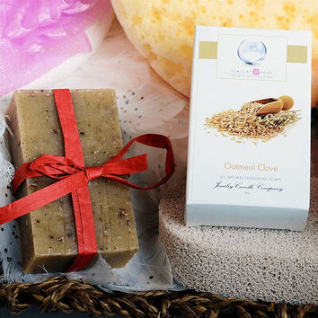 Oatmeal Clove Jewelry Soap (Comes with Jewel)