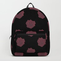 Red Rose Backpack by drawingsbylam