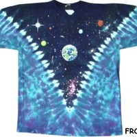 Space Top Tie Dye T-Shirt
