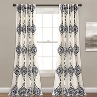 Keilia Boho Medallion Room Darkening Curtains