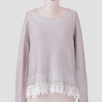 Reflection Sweater By Dear Creatures