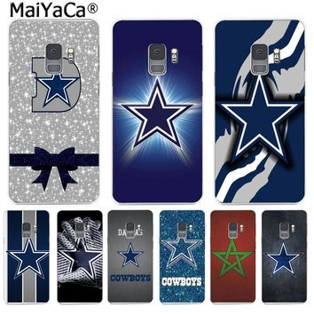 MaiYaCa Dallas Cowboys Fashion Phone Case Cute Funny Cartoon for Samsung S9 S9 plus S5 S6 S6edge S6plus S7 S7edge S8 S8plus