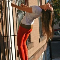native woman yoga pants