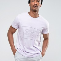 Cheap Monday Standard Pocket T-Shirt Thin Box Logo at asos.com