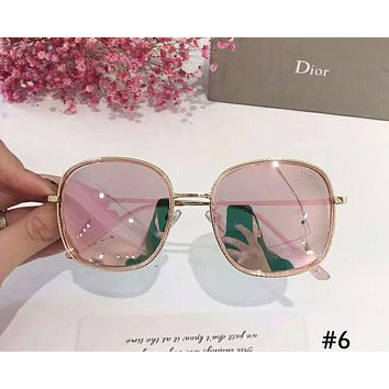 DIOR 2019 new tide brand female box color film polarized sunglasses #6