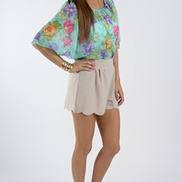 The Penny Shorts, Taupe