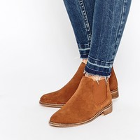 ASOS AMERICA Suede Chelsea Ankle Boots