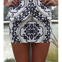 ASOS Fashion Finder | Amazing Xenia Boutique Sanchu Skirt paisley print peplum