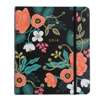 2016 Birch Floral 17-Month Planner by RIFLE PAPER Co. | Imported