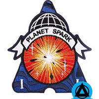 Michael Willett - Planet Spark Patch (Glow-in-the-Dark)