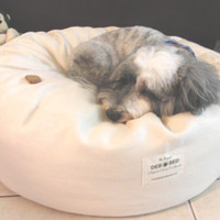 "Organic Hemp Pet Bed - 24"" x 8"""