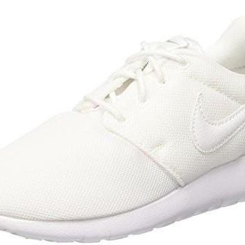 NIKE KIDS ROSHE ONE (GS) WHITE/WHITE/WOLF GREY RUNNING SHOE 4.5 KIDS US