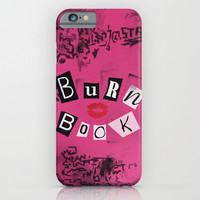 The ORIGINAL Burn Book design from the movie Mean Girls iPhone & iPod Case by AllieR