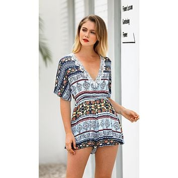PATTERNED PERFECT ROMPER