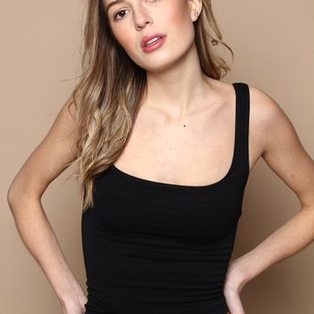 Free People Square One Cami - Black