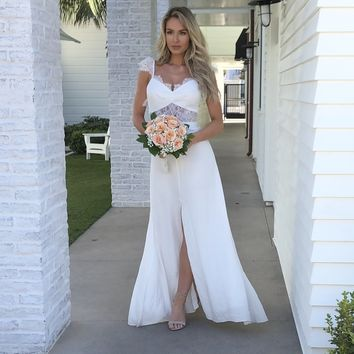 Everlasting White Maxi Dress