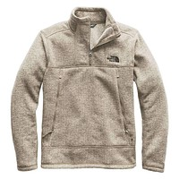Men's Glacier Alpine Jacket in Granite Bluff Tan Heather by The North Face