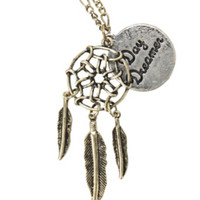 Dreamcatcher Day Dreamer Necklace