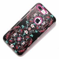 For iPhone 8 Plus Cases Cute 3D Skull Owl Elephant Shockproof Cover Hybrid Soft TPU Plastic Armor Cases for iPhone 7 6 6S Plus